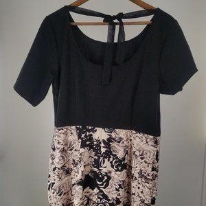 🌵 LC Lauren Conrad Plus Size Floral Dress Size 16